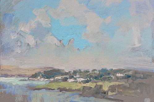 Camel Estuary from a Hill no.16