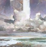 The Tempest No.2  80x80cm acrylic on canvas £1750 Padstow Gallery