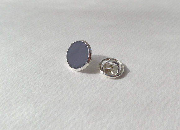 Blackcurrant Tie Tack, Silver Clutch back Brooch Pin, Badge, Lapel Pin