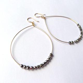 Gold Fill Statement earrings
