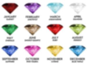 birthstones, gems for birthdays