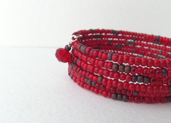 Deep Red Bangle