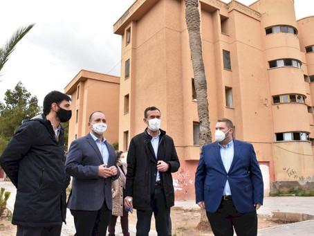 El derribo de los edificios Llimoner 21 y 23 en Los Palmerales se realizará antes de acabar el año