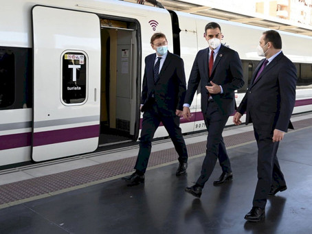 Sánchez inaugura la apuesta en el Corredor Mediterráneo para mejorar conexiones de Elche y Orihuela