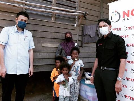 Penyampaian sumbangan kepada penerima KIDA oleh Kementerian Kewangan Malaysia bersama Pihak NCIA