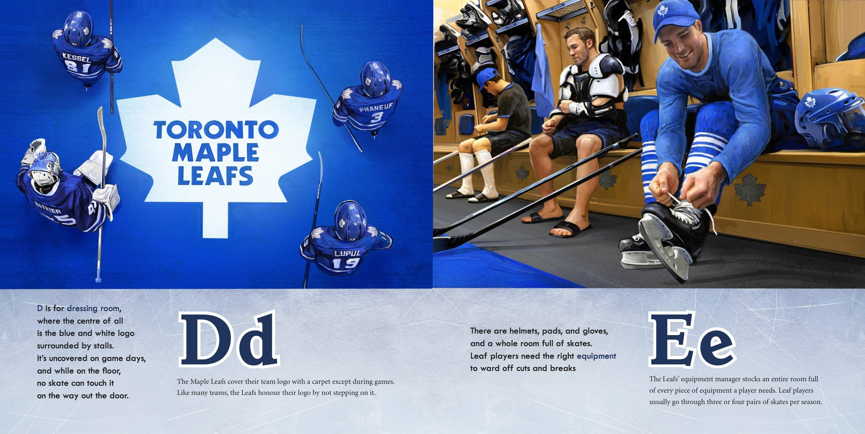 M is for Maple Leafs-D&E2014