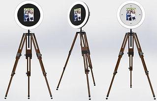 Photobooth sur trépieds