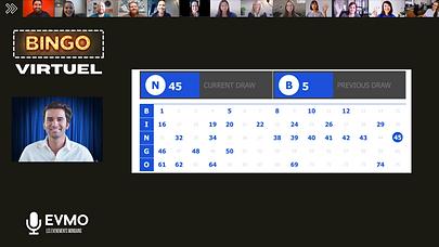 Bingo interactif
