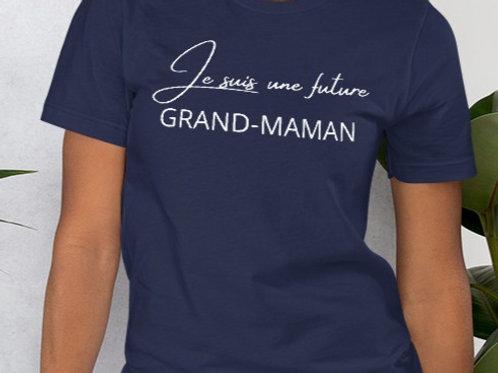 T-Shirt : Je suis une future Grand-maman