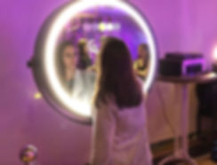 Photobooth miroir Rond