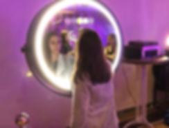 Photobooth miroir Rond