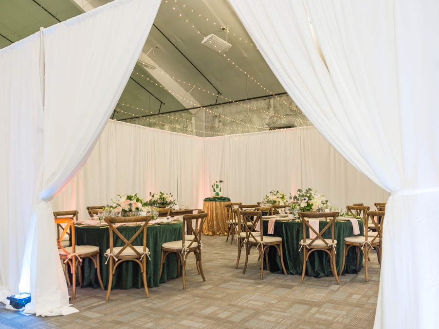 Indoor Court Wedding