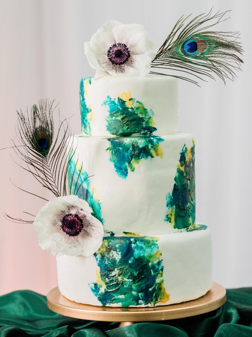 Cake from Mason Dixson Bakery