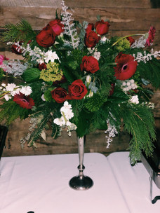 Holiday Party Flowers