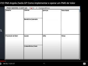 Webinar com o PMI-Angola: Como implementar e operar um PMO de Valor?