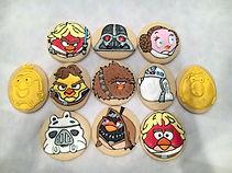 Star Wars Angry Birds Cookies.JPG