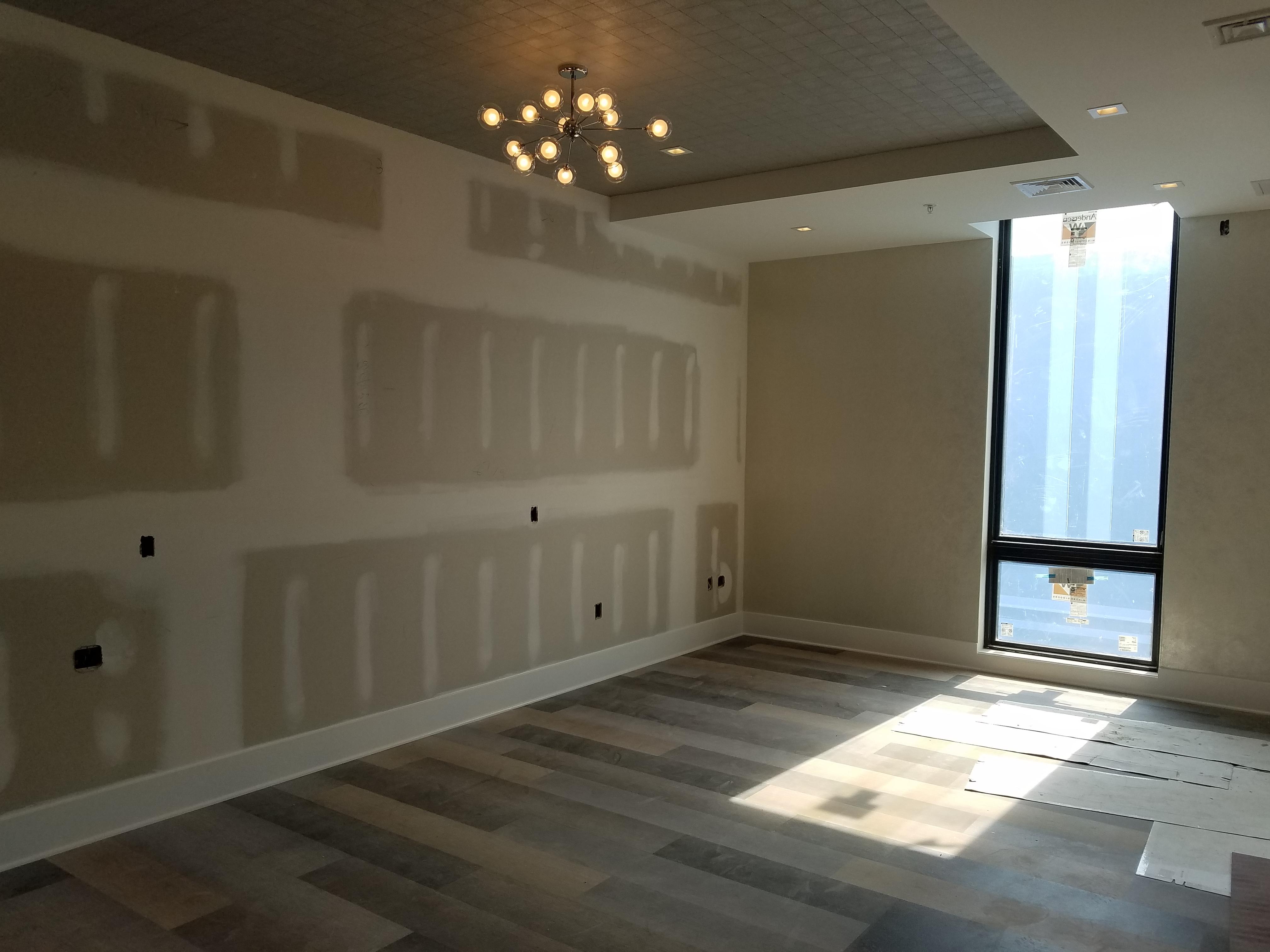 Penthouse in progress