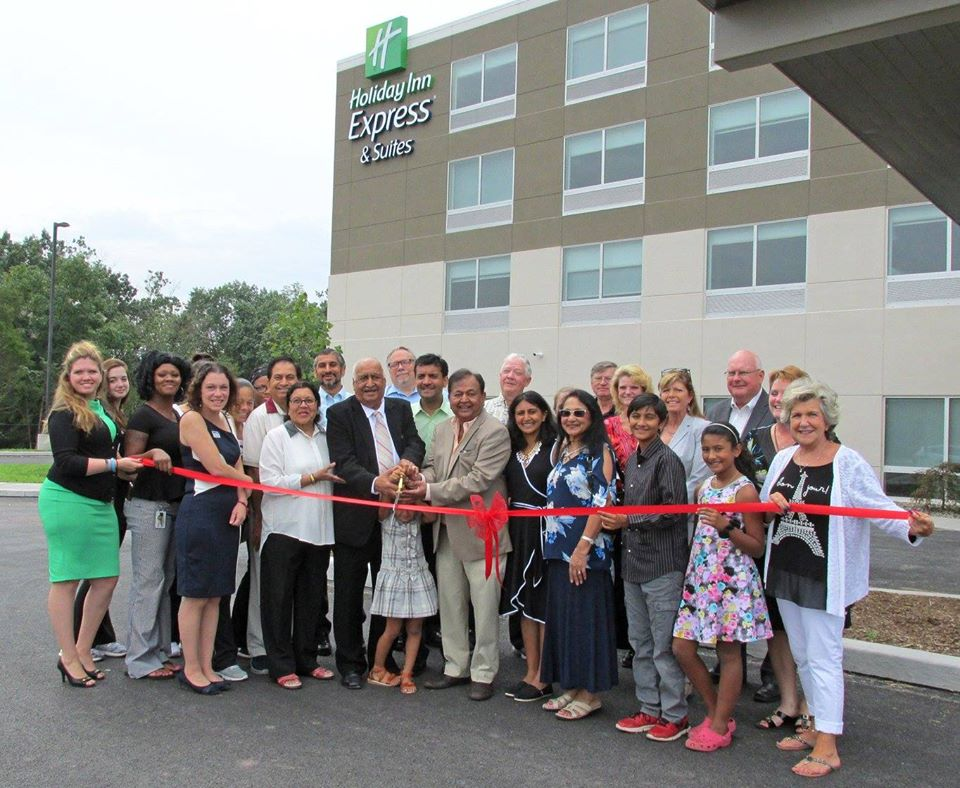 Opening the Holiday Inn Express