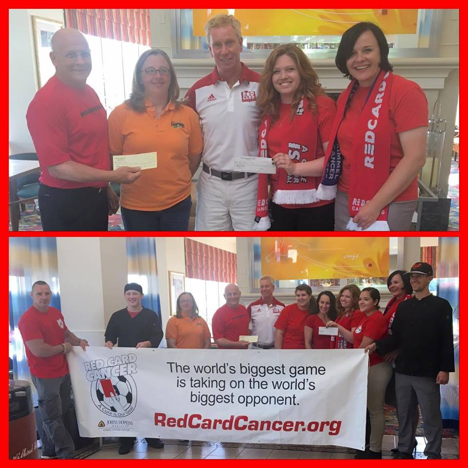Red Card Cancer Donation