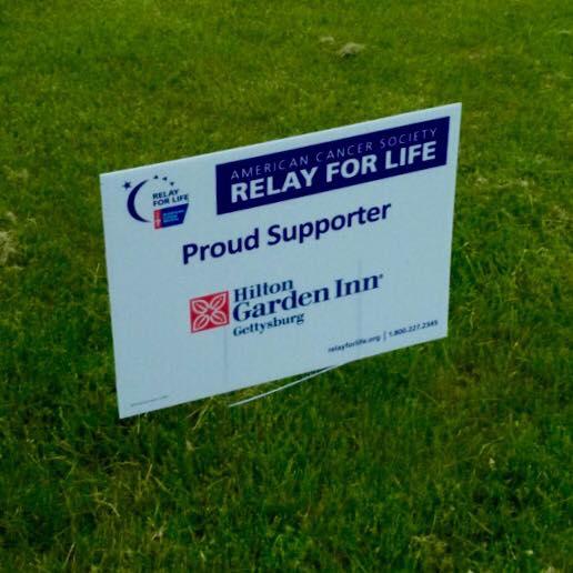 Relay For Life Sponsorship