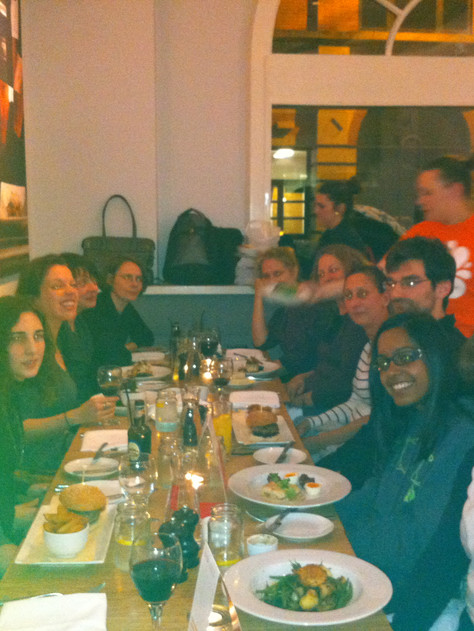 Challenging Institutionalising Whiteness dinner