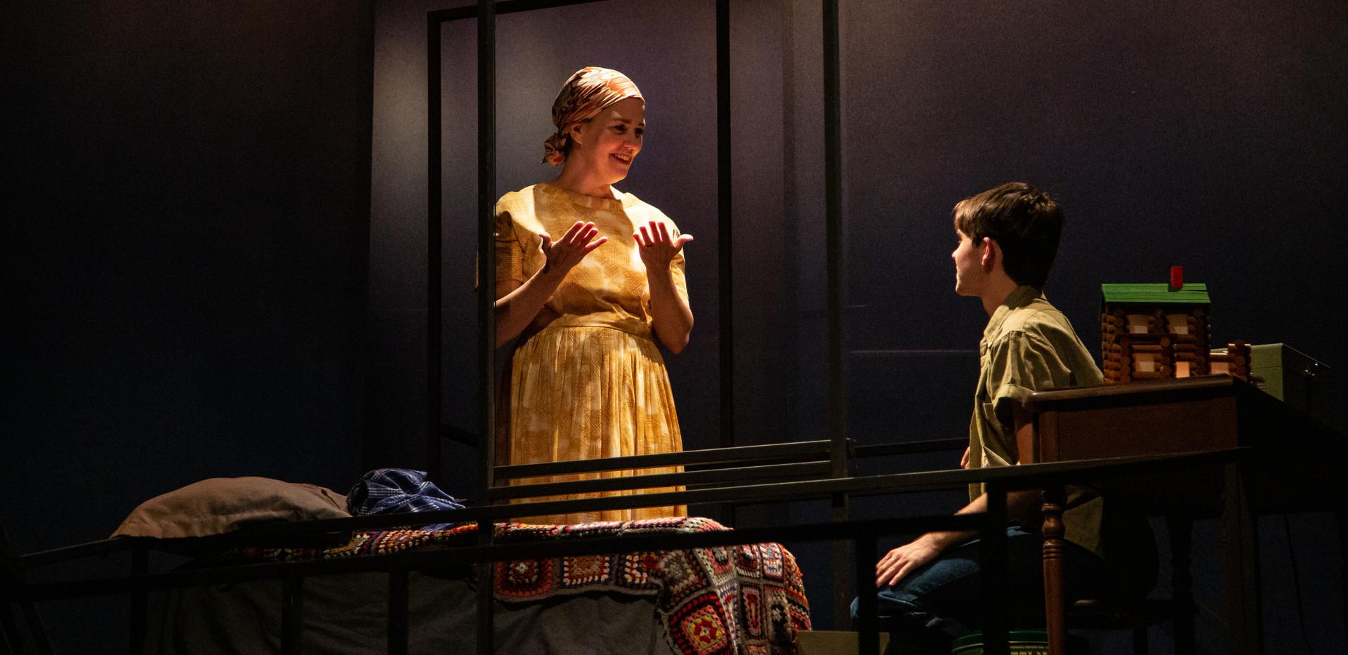 Sarah talks to Nathan