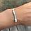 Thumbnail: Bracelet cordon et pierres naturelles