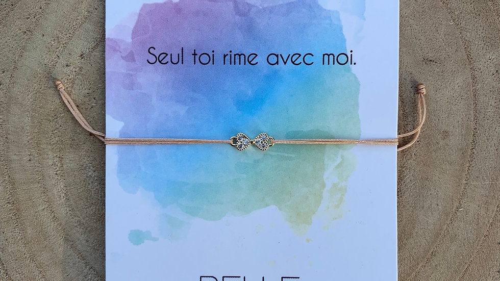 Bracelet message, collection promesse