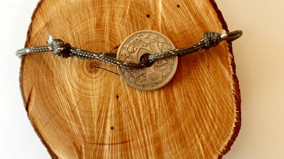Bracelet homme kaki