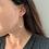 Thumbnail: Boucle d' oreille nacre/ doré