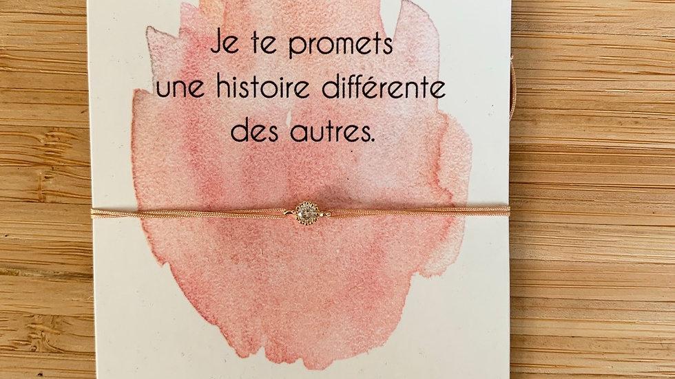 Bracelet message, collection promesse