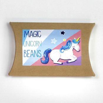 Magic Unicorn bean grow set