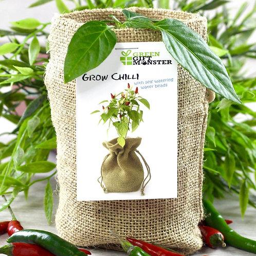 Chilli Pepper Jute bag