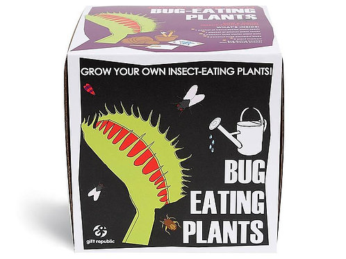Sow And Grow Bug Eating Plant Gift Set