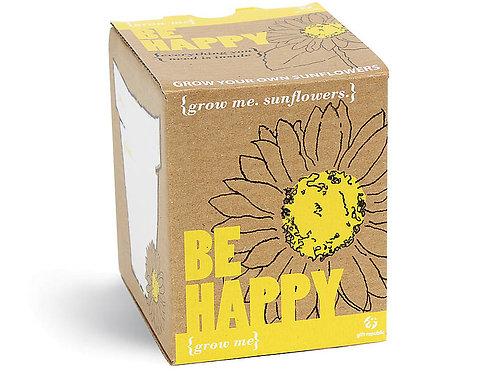 Grow Me 'Be Happy' Sunflower Kit