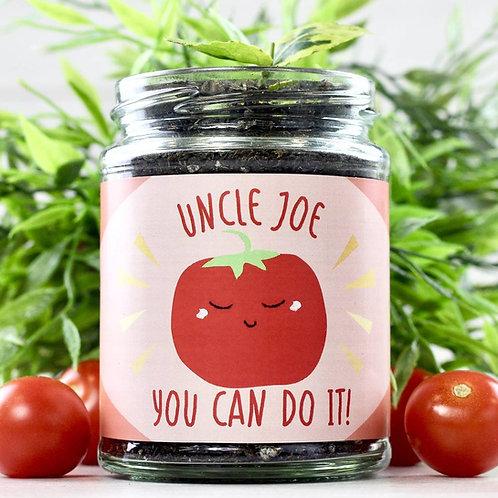 Personalised Tomato Grow Kit