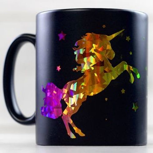 Personalised Metallic Unicorn Mug