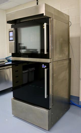 Vacuum cooling unit, pilot scale