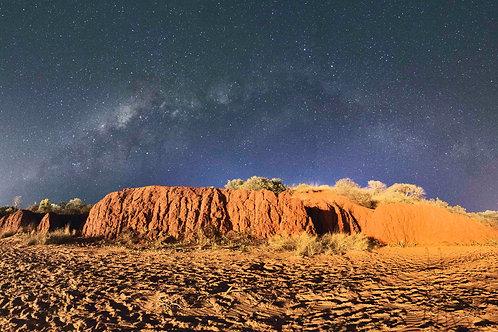 Simpson Beach Milky Way
