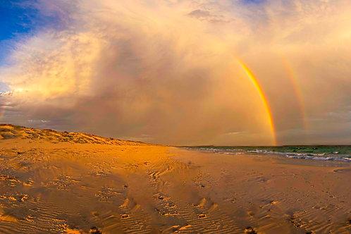 Castletown Beach Rainbow