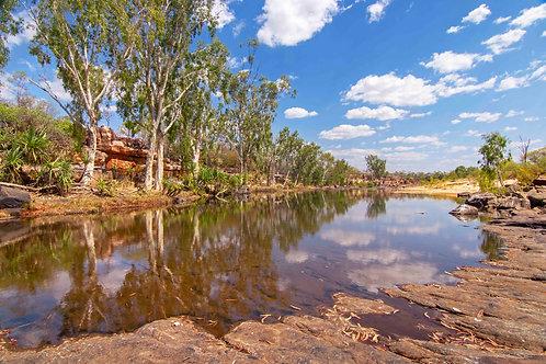 Hann River, Mount Elizabeth