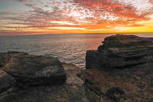 Gantheaume Sunset Rocks