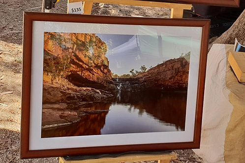 Bell Gorge A2 Framed Print