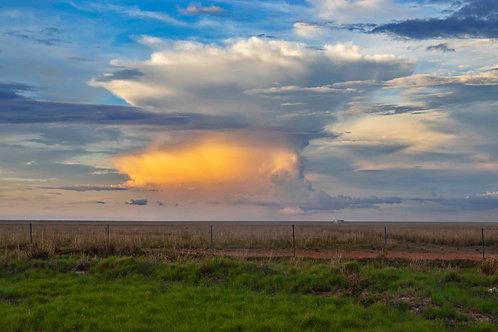 Roebuck plains Sunset Storm Cloud