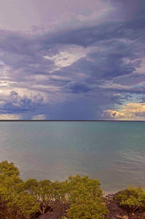 Roebuck Bay Passing Storm