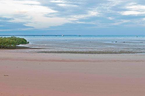 Simpson Beach Low Tide