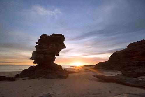 Enternace Point Sunset Sunrays