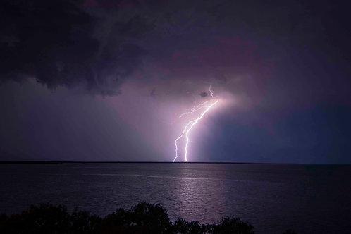 Town Beach Lightning