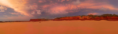 James Price Point Vivid Sunset