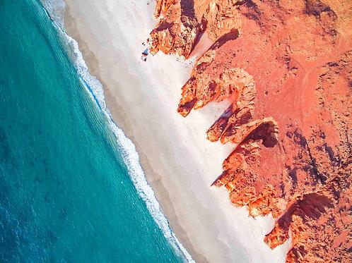 Cape Leveque Cliffs Aerial